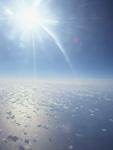 太陽と雲海