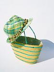 帽子とバッグ