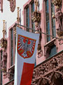 フランクフルト旧市庁舎の旗