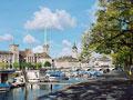 リマト川とチューリッヒの町並