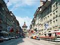 ベルンの時計台と町並