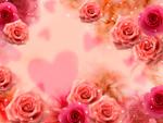 バレンタインデーイメージ(CG)