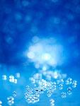 反射するガラス粒