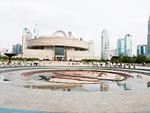 人民広場と上海博物館