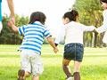 タイトル:走る子供
