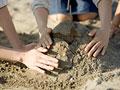 タイトル:砂遊び