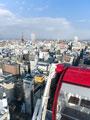 観覧車からの札幌市街