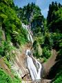 羽衣の滝 天人峡