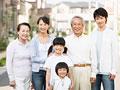 タイトル:笑顔の家族