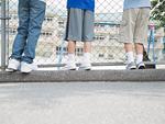 小学生の足
