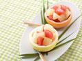 グレープフルーツのデザート