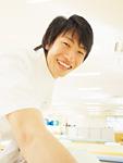 笑顔の理学療法士