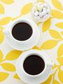 コーヒーとドラジェ
