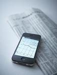 スマートフォンと新聞