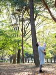 公園の親子