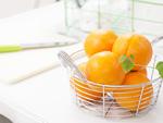 台所のオレンジ