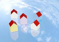 青空と住宅イメージ