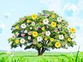 タイトル:一木と花