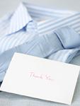 父の日のプレゼントとメッセージカード