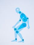 人型定規・膝の痛み