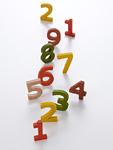 数字の木製玩具