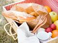 パンと果物