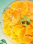 オレンジと泡