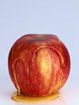 蜂蜜がかけられたリンゴ