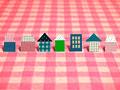 ポップな住宅のイメージ
