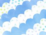 青空と雲のイメージ
