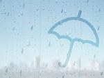 傘をさす雨の日のイメージ