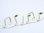 エコロジーイメージの音符