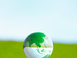 草原と地球