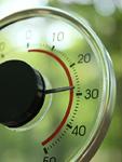 丸い温度計
