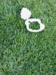 芝生と木のペーパークラフト
