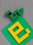 ブロックのヘビ