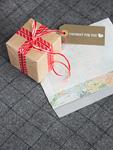 ギフトボックスと手紙
