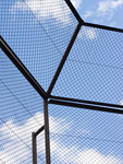 野球場のフェンス