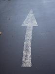 路面の矢印