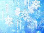 雪の結晶(CG)