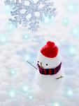 雪だるま(CG)