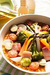 カラフル野菜のフライパンパエリア