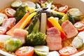 タイトル:カラフル野菜のフライパンパエリア