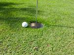 パークゴルフのホールカップ