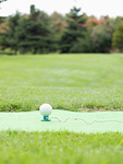 パークゴルフのティーグラウンド