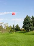 パークゴルフの旗