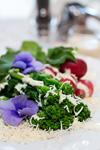 菜の花の美々っと塩ヨーグルトサラダ