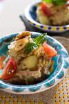 クルミとベーコンのゴロゴロポテトサラダ