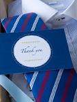 ワイシャツとネクタイとメッセージカード