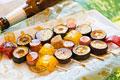 タイトル:焼き鳥風 野菜のオーブン焼き